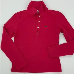 LaCoste Long Sleeve Polo. Sz. 40/8